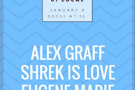 Sunday Sounds feat. Alex Graff, Shrek is Love, and Eugene Marie
