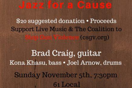 Sunday Sounds: Jazz for a Cause
